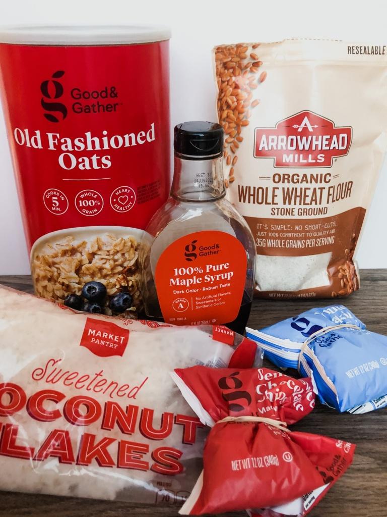 oatmeal chocolate coconut cookies