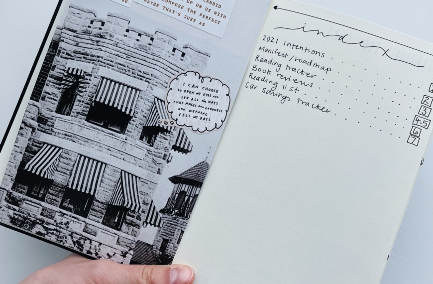 Bullet Journaling Your 2021 Goals Into Reality