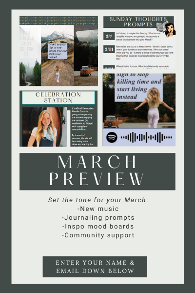 Set the tone for the rest of your February_ -New music -Inspo mood boards -Community support (1)