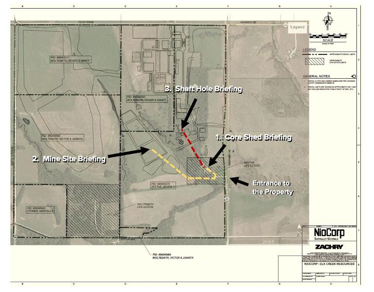 NioCorp Hosts 150+ Investors on Tours of the Elk Creek Project Site in Southeast Nebraska