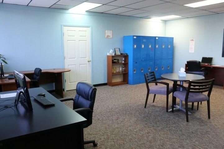 Staff Work Room