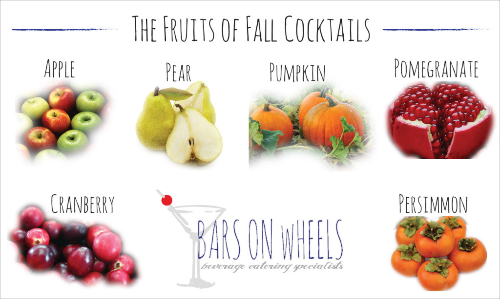 The Fruits of Fall Cocktails