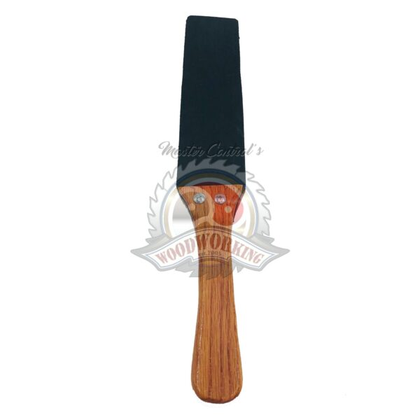 Wooden Handled Spanking Strap Paddle