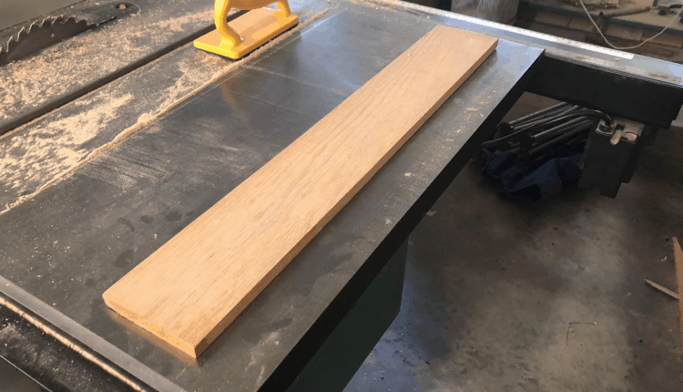 Making of Paddle - Step 1