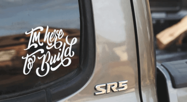 Truck & Car Window Decals