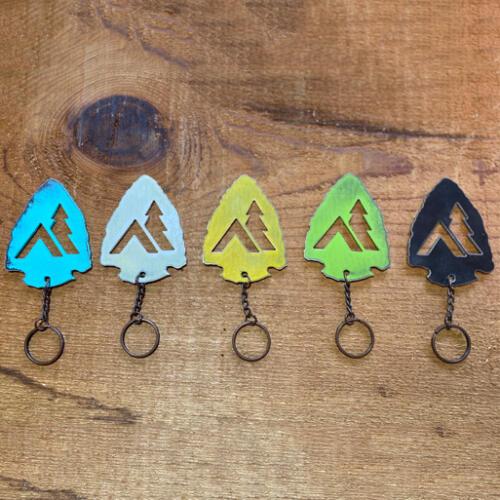 Arrowhead-Tent-Keychain