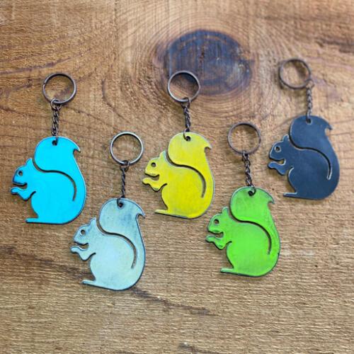 Squirrel-Keychain