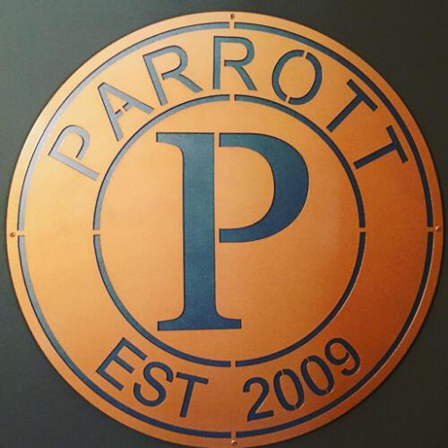 parrott-sign