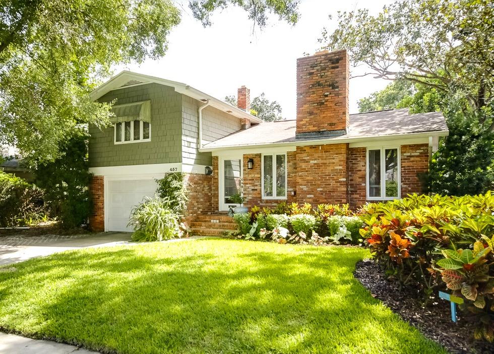 457 Lucerne Davis Islands Fadal Real Estate Tampa Exterior Front close