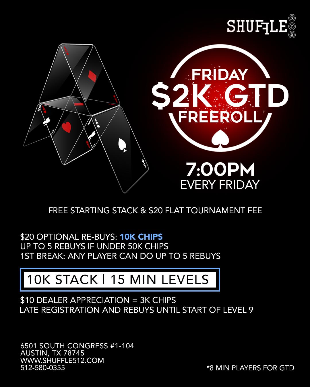 Shuffle 512 Friday 2K GTD Freeroll