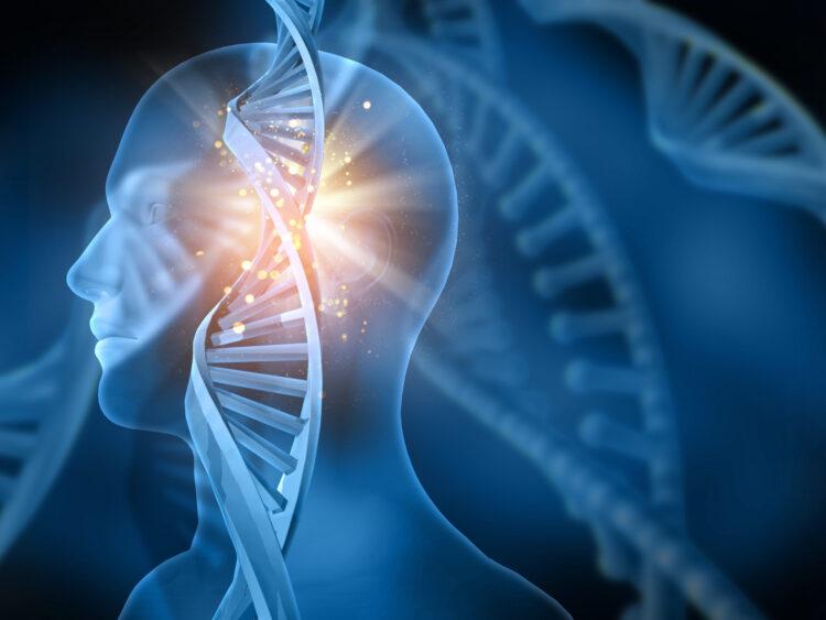 DNA human figure
