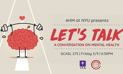 Conversation on Mental Health - Asian Heritage Month at New York University