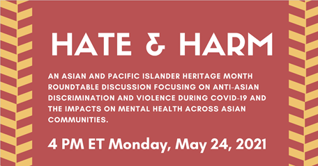Hate and Harm Virtual Event