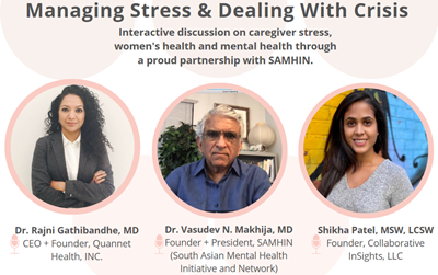 Managing Stress and Dealing with Crisis Virtual Event