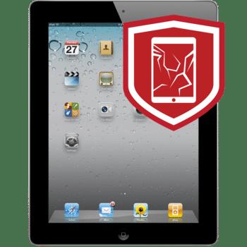 iPad 2 cracked glass