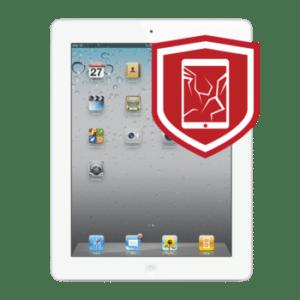 iPad 3 cracked glass