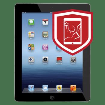 iPad 4 cracked glass