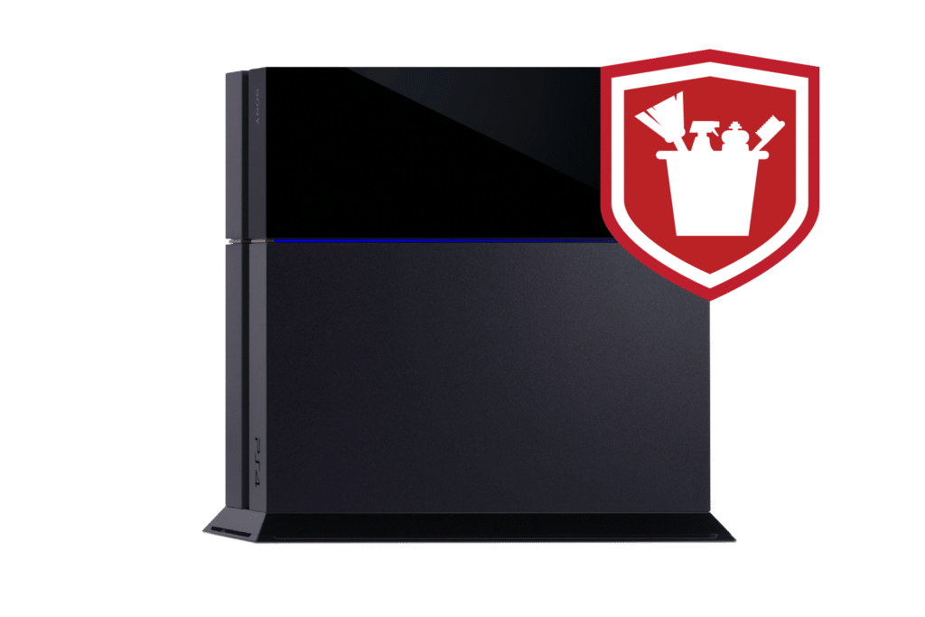 playstation 4 cleaning