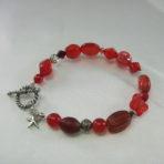 Red Multi-Bead Bracelet
