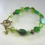 Green Multi-Bead Bracelet