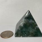 Green Jasper Pyramid