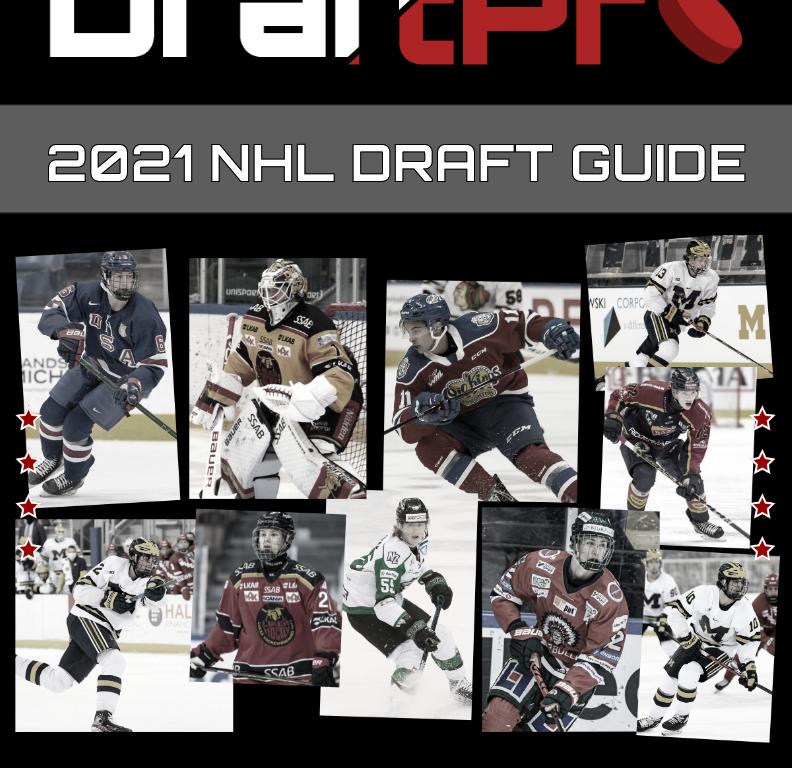 DRAFTPRO – 2021 NHL DRAFT GUIDE (50% OFF)
