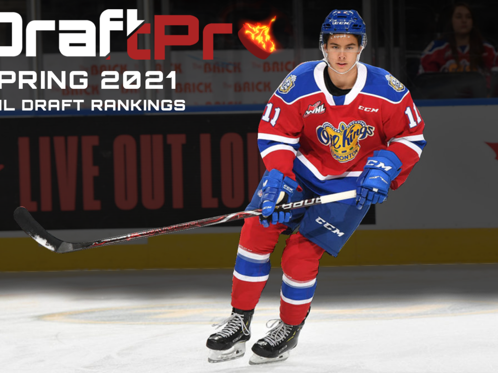 DRAFTPRO – SPRING 2021 NHL DRAFT RANKINGS