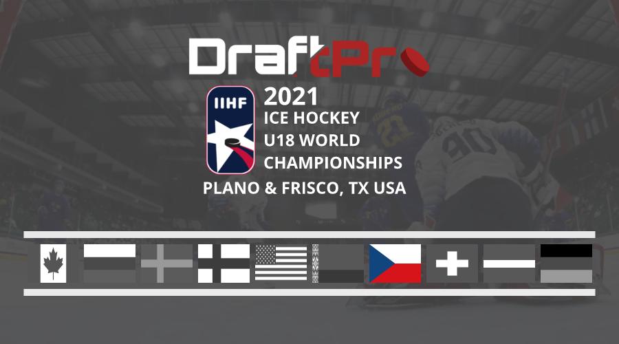 DRAFTPRO – IIHF U18 WORLDS – CZECHIA U18 REVIEW