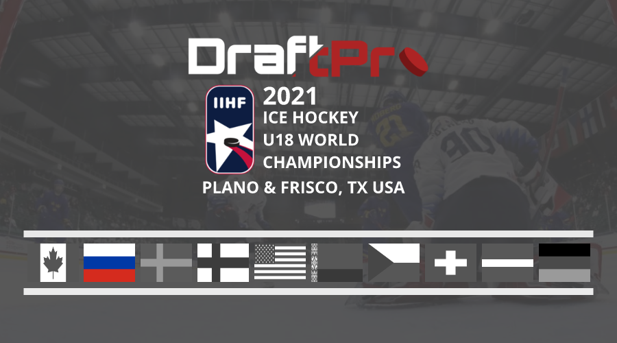 DRAFTPRO – IIHF U18 WORLDS – RUSSIA U18 REVIEW