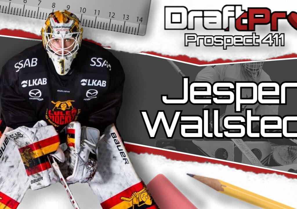 THE 411 ON JESPER WALLSTEDT