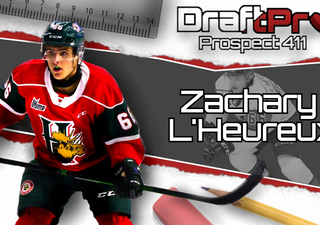 Get the 411 on 2021 NHL Draft prospect Zachary L'Heureux of the Halifax Mooseheads.