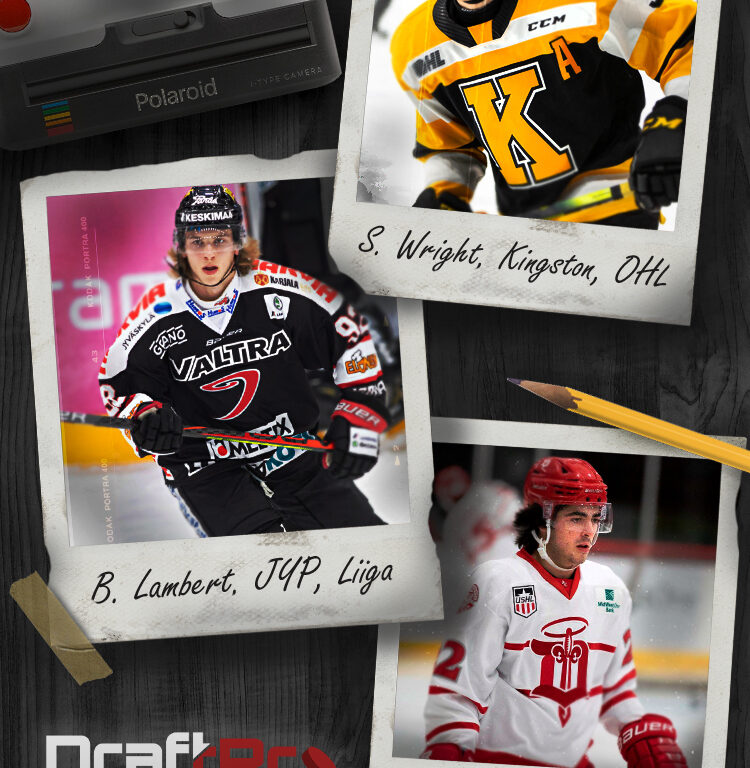 DRAFTPRO – 2022 NHL DRAFT FIRST GLANCE