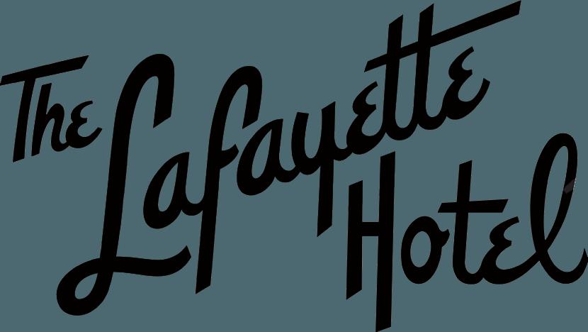 LAFAYETTE Logo Retro blk Rich