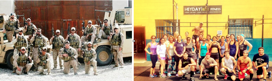 "Ben with his Battalion and Later with Heyday doing ""Roy""."