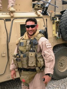 Ben on His Deployment with the  3rd Marines Special Operations Battalion.