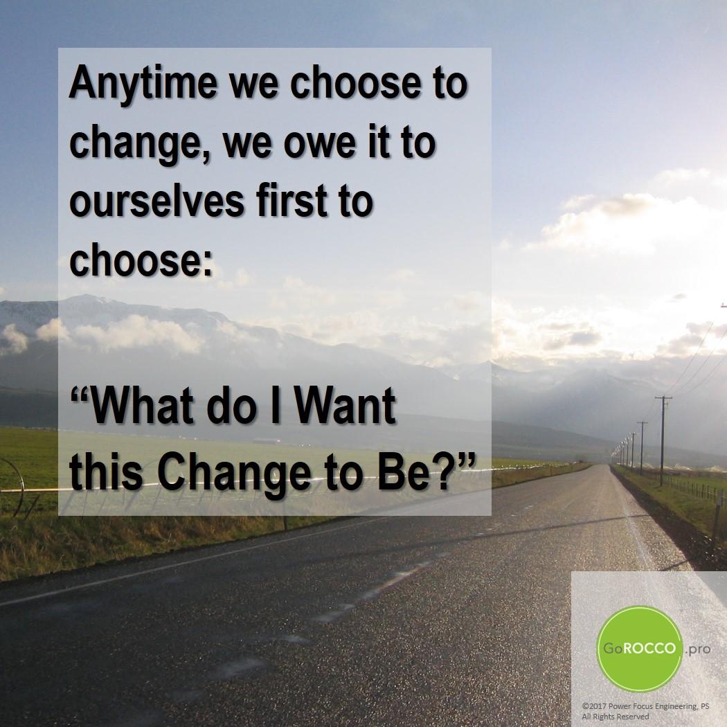 Choose Change - road r1