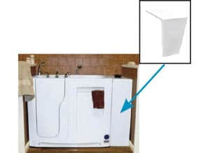 Filler Panel Walk-In Tub Accessories