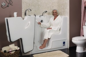 Rane KeyLock™ Walk-In Bath Tub