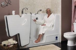Rane Bathing Walk-In Tub KeyLock™ Door