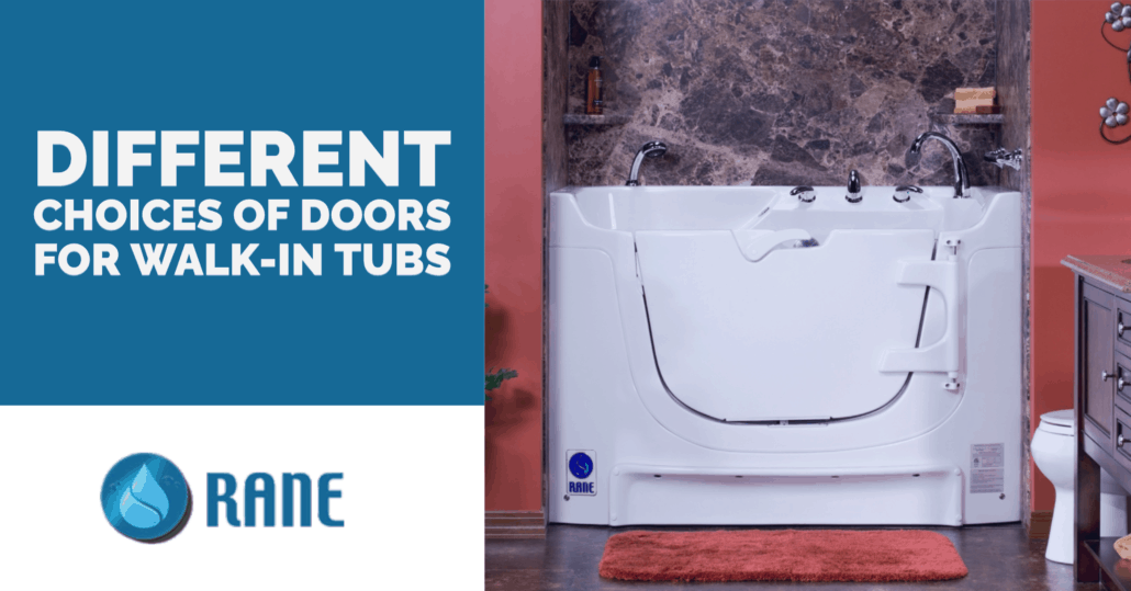 Different Choices of Doors for Walk-in Tubs