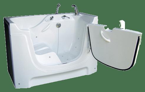 RH6 St. Croix Walk-In Bath Tub