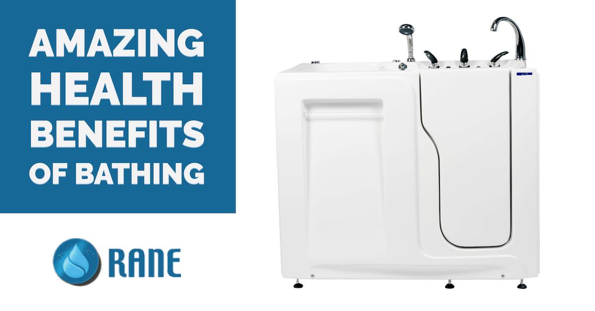 Amazing Health Benefits of Bathing