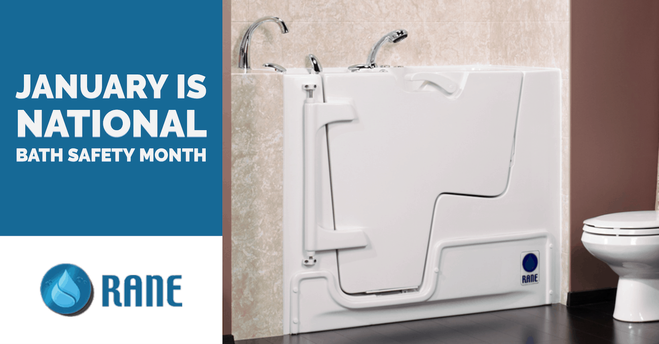 January is National Bath Safety Month