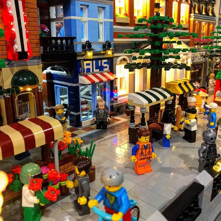 Lego Display and Sale - Bay Park Mall - Spring Edition