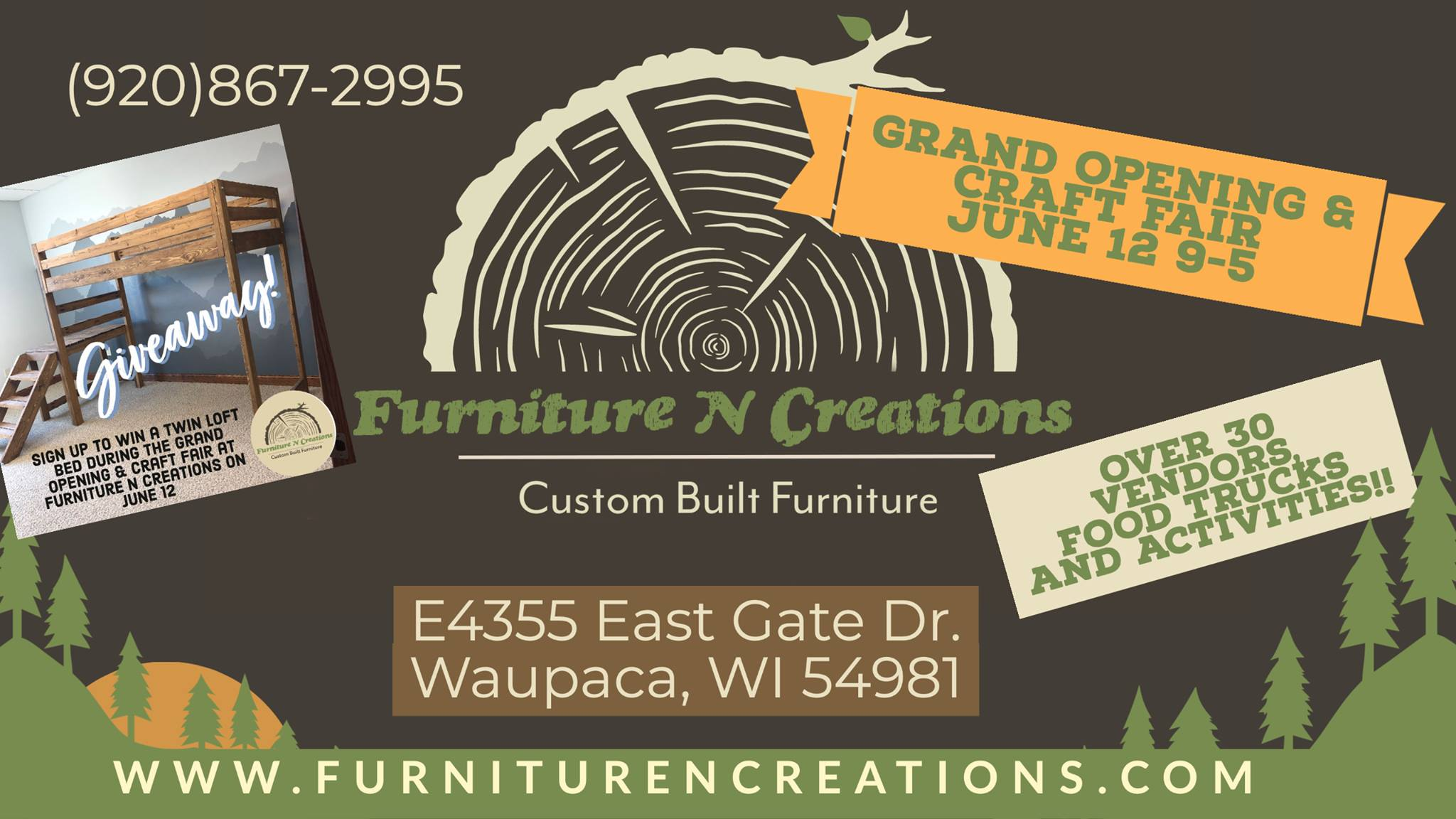 Grand Opening and Craft Fair