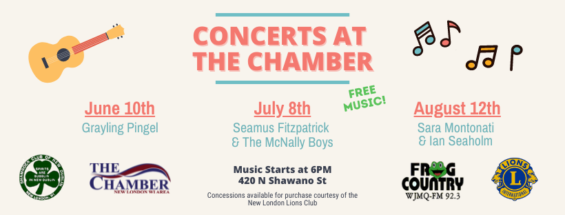 Concerts at the Chamber
