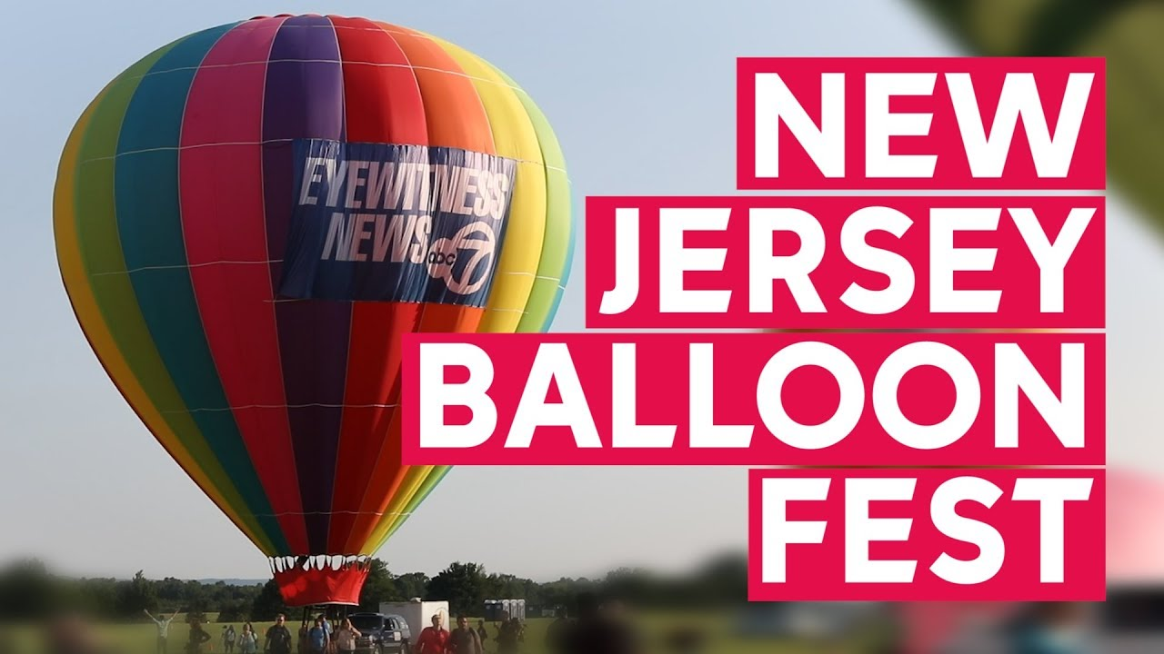 New Jersey Festival of Ballooning Live Event 2021- ONLINE
