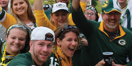 THE BLITZ PACKAGE / Bart Starr Plaza Tailgate Party