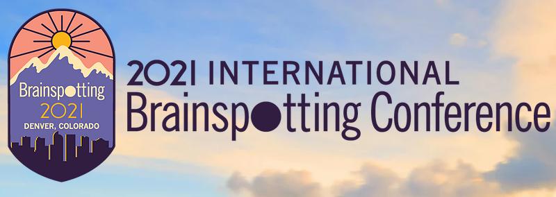 Logo for the 2021 International Brainspotting Conference