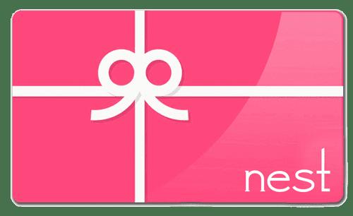 nest spa gift Certificate